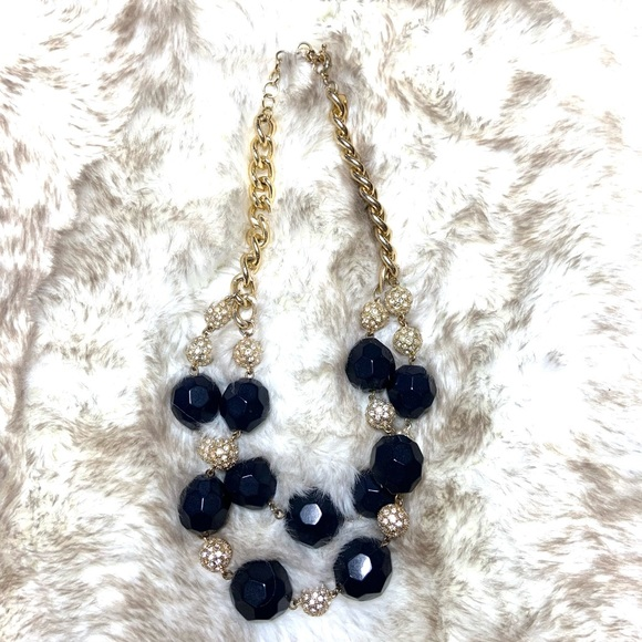 Lilly Pulitzer Blue & Gold Chunky Necklace